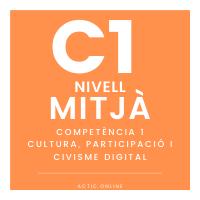 Nivell mitjà – C1 - Cultura, Participació i Civisme digital course image