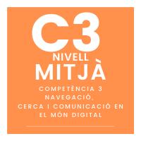 Nivell mitjà – C3 - Navegació, cerca i comunicació en el món digital course image