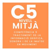 Nivell mitjà - C5 - Tractament de la informació gràfica, sonora i de la imatge en moviment course image