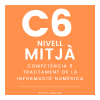 Nivell mitjà - C6 - Tractament de la informació numèrica course image