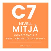 Nivell mitjà - C7 - Tractament de les dades course image